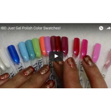 IBD Just Gel Polish Color Swatches!